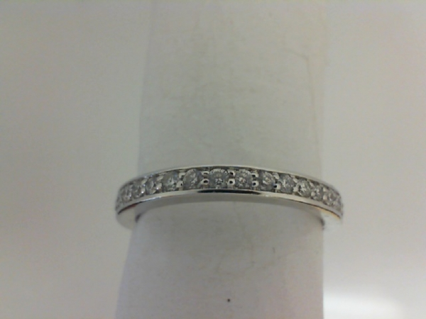 Diamond Half Anniversary Wedding Band by Colore